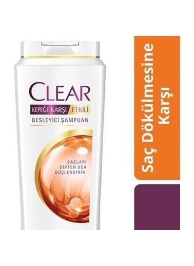Clear Clear Şampuan Saç Dökülmesine Karşı 500 Ml Renksiz